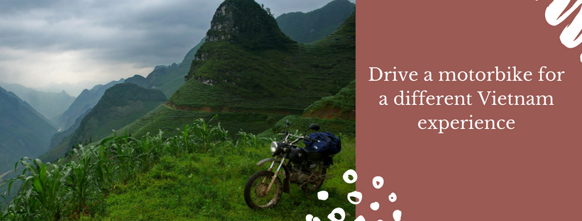 Drive a motorbike to discover Vietnam in a different way - Vietnam visa